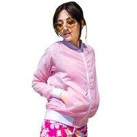 Women UV Sun Protection Thin Transparent Jacket Baseball Collar Quick Dry Lightweight Summer Skin Jacket Rain
