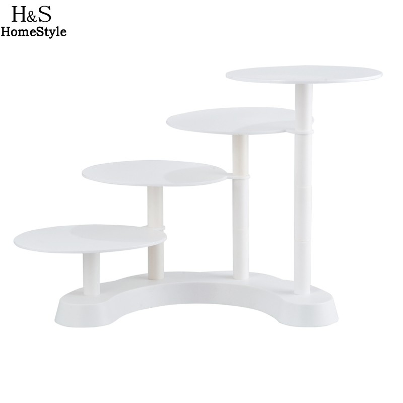 Homdox 4 tier Round Cake stand Kitchen Accessories Wedding Cake <font><b>Tools</b></font> Cake Decorating Cake Decorating <font><b>Tools</b></font> Rack Display Z25*