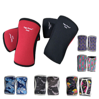 M L Size 5 Mm Strongman Power Lifting Olympic Weight Lifting Crossfit Knee Sleeves VPG WL