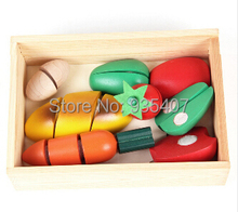 Ed.Inter wooden cut fruit fun toy honestly seen fruits and vegetables every family kitchen toys