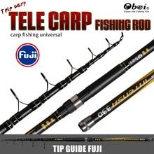 tele carp fishing rod telescopic transportable skilled Extremely Mild professional journey 3.3m 3.6m 3.25lbs obei