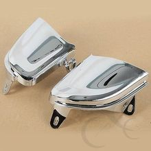 Motorcycle Front Chrome Headlight Cover Trims For Honda Goldwing Gold Wing GL1800 2006-2014
