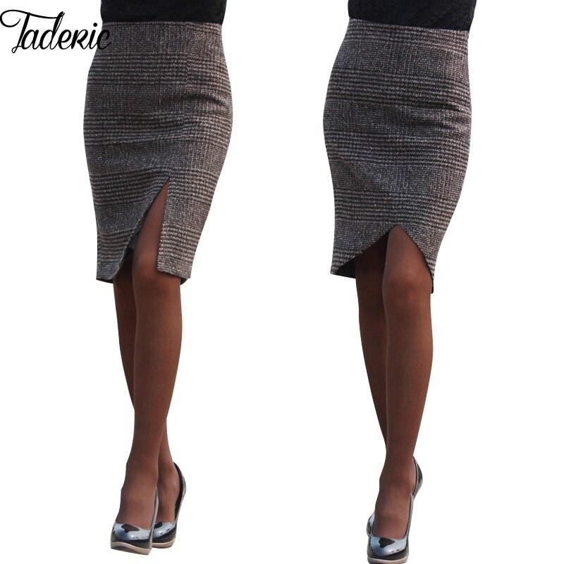 Online Get Cheap Plaid Pencil Skirt -Aliexpress.com | Alibaba Group