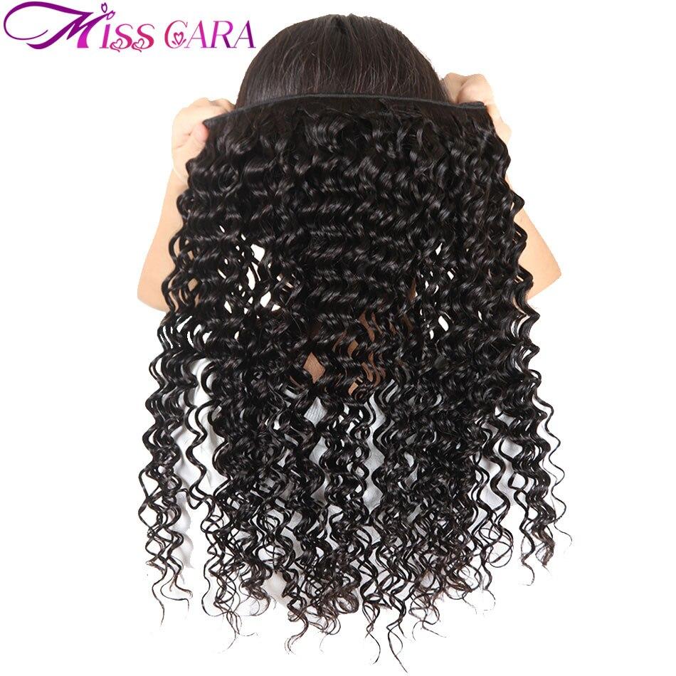 """Miss Cara волос глубокая волна перуанский 100% Человеческие волосы ткать пучки двойной уток природа Цвет 8 """"-28"""" не -Реми волос Бесплатная доставка"""