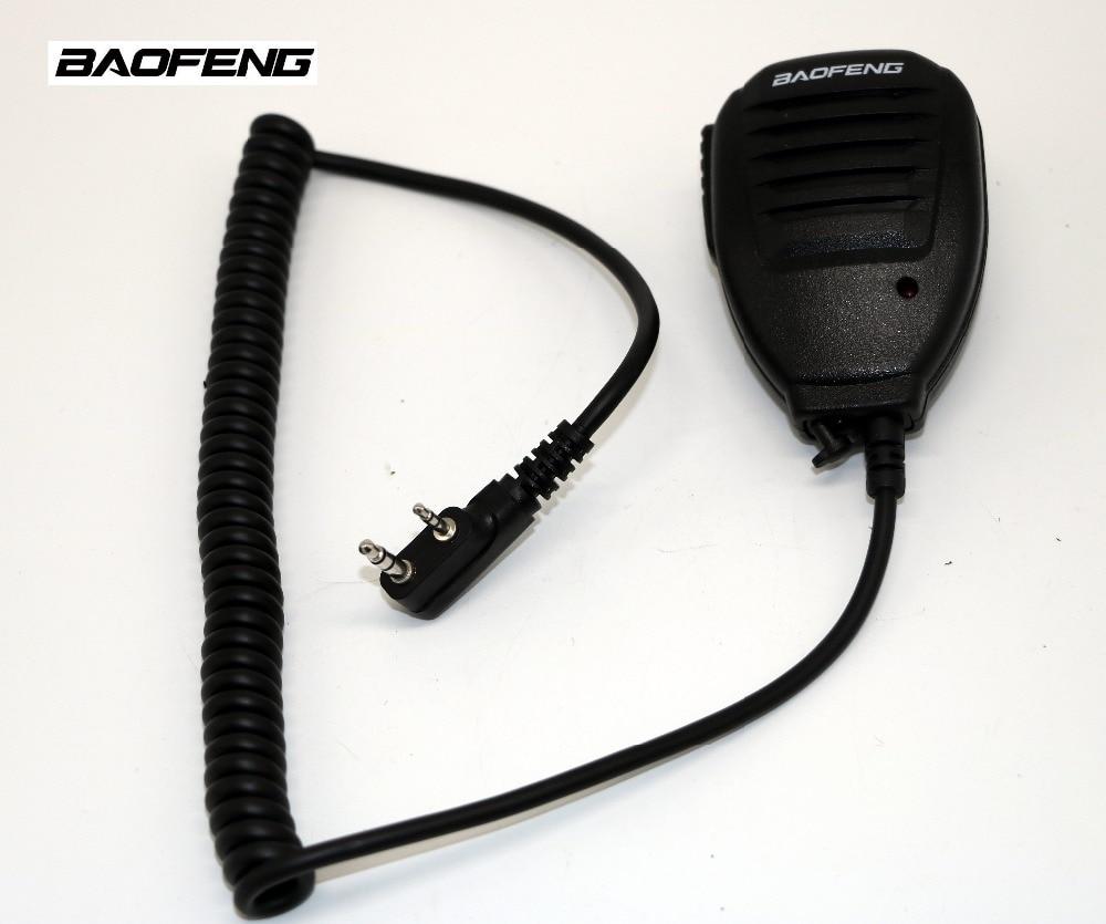 imágenes para Micrófono De Mano MICRÓFONO Altavoz para walkie talkie Baofeng UV-5R UV-B5 BF-888S UV-82 CB radio Portátil para UV5R