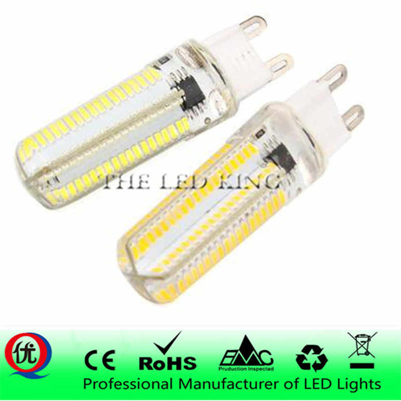 Led Light G9 G4 Led Bulb E11 E12 14 E17 G8 Dimmable Lamps 110V 220V Spotlight Bulbs 3014 SMD 24 48 64 104 152 Leds Sillcone Body