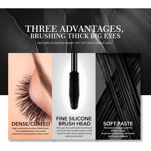 Menow Brand Makeup Curling Thick Mascara Volume Express False Eyelashes Make up Waterproof Cosmetics Eyes M13005   1402 2