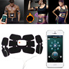 Electronic Smart EMS Charging Smart App Control Abdominal Arm Intensive Train Wireless Muscle Trainer Electric Pulse