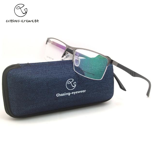 692367fafb9 2016 Chasing D047 Optical Eyeglasses Frame Men Spectacle Frame For Male  Computer Eye Glasses Transparent Clear