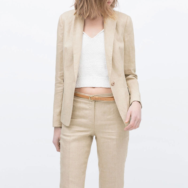 Popular Linen Blazers-Buy Cheap Linen Blazers lots from China ...