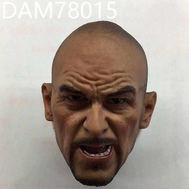 personalizado 1 6 russia dam78015 fsb masculino solider cabeca esculpir com raiva ver aviao cabeca escultura