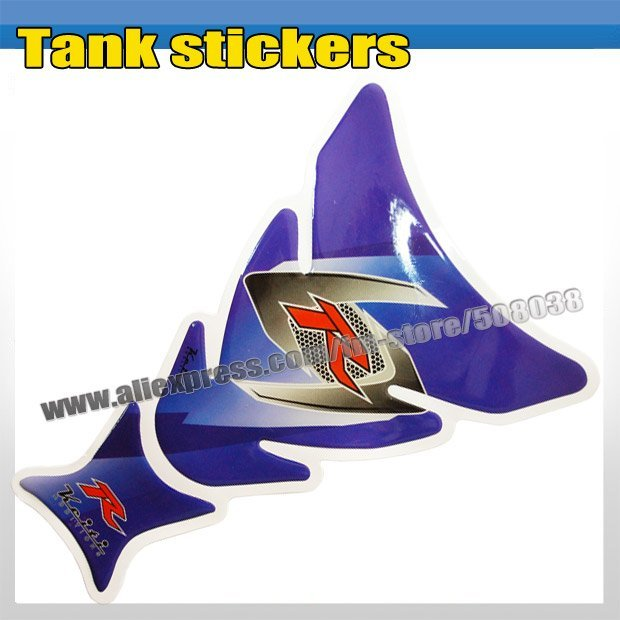 Free Shipping Motorcycle Tank Pad Protector Decal Sticker MP003