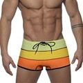 Summer Sexy Mens Swimwear Trunks Swimsuit Bikini Boxer Shorts Beach Boardshorts Bathing Suit Bath Shorts Low Waist Good Quality