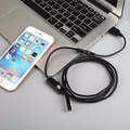 7mm  1.5M/3M Hard Cable Lens Android OTG Phone Endoscope IP67 Waterproof Inspection USB Borescope Tube Snake HD LED Video Camera