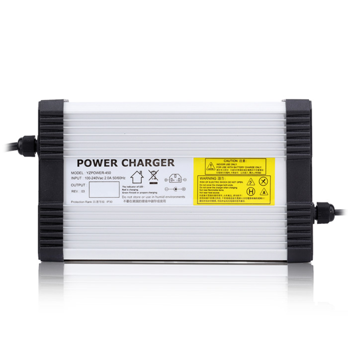 Yangtze AC DC 29V 14A 13A 12A Lead Acid Battery Charger for 24V Power Polymer Scooter