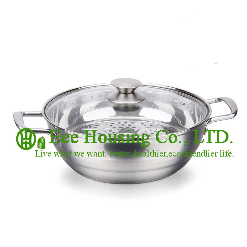 Stainless Steel Cookware Kitchenware Free Shipping Factory Price /induction Cooking Pot/steamer Pot/soup/mini Pot Kitchen