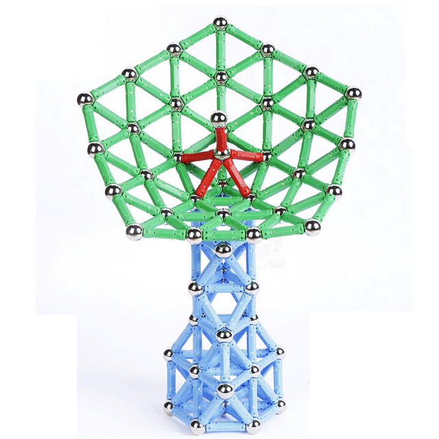 103pcs/157pcs/set Creative Magnetic Design Blocks Child intelligence toy educational toys magnetic stick favorite gift block toy 4