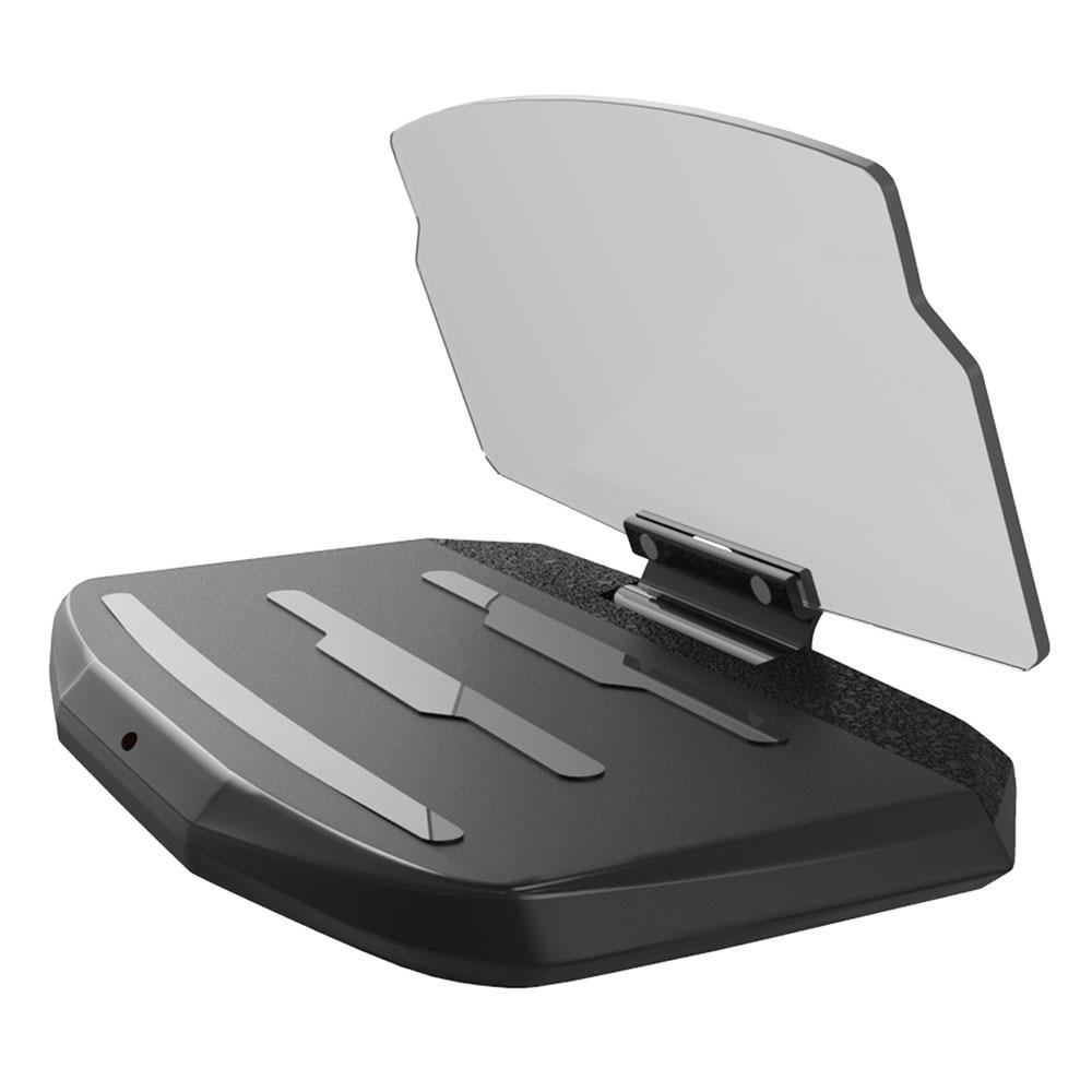 Автомобильная Подставка для GPS DC 5 V высокопроизводительный телефон HUD стенд дисплей Проекционный кронштейн многофункциональное Беспроводное зарядное устройство