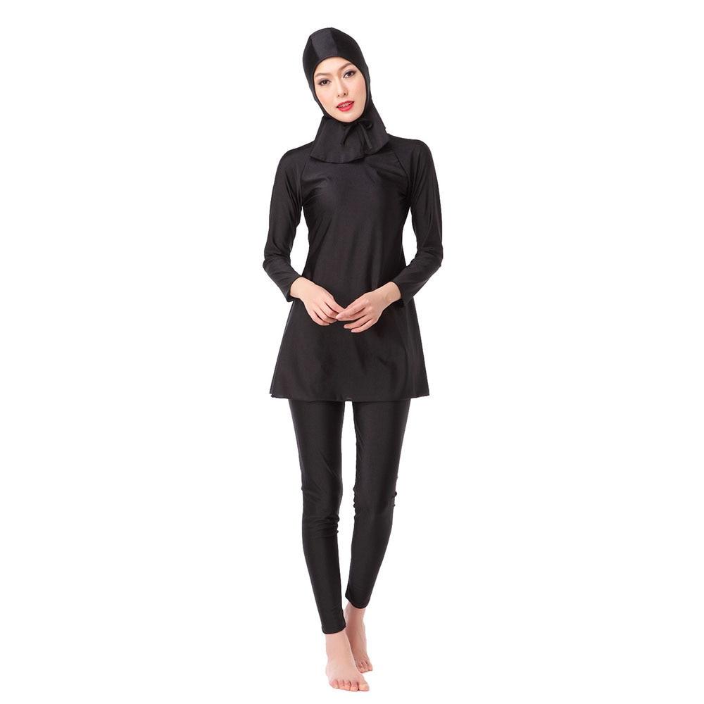 Mother & Kids Apprehensive Summer Modesty Muslim Swimwear Islamic Swimsuit For Women Hijab Swimwear Full Cover Swimming Print Beachwear Swim Suit
