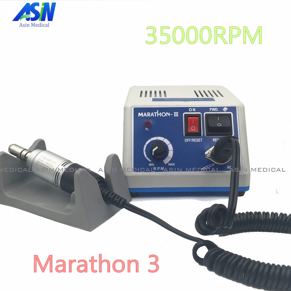 2017 NEW Original SEAYANG Dental Lab Marathon Fit 35K RPM Handpiece Polishing Micromotor + Electric Motor dental lab marathon handpiece 35k rpm electric micromotor polishing drill burs