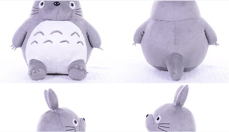 Totoro Plsuh Toys  Soft suffed animal cartoon pillow cushion cute fat cat  chinchillas children birthday Christmas gift 4