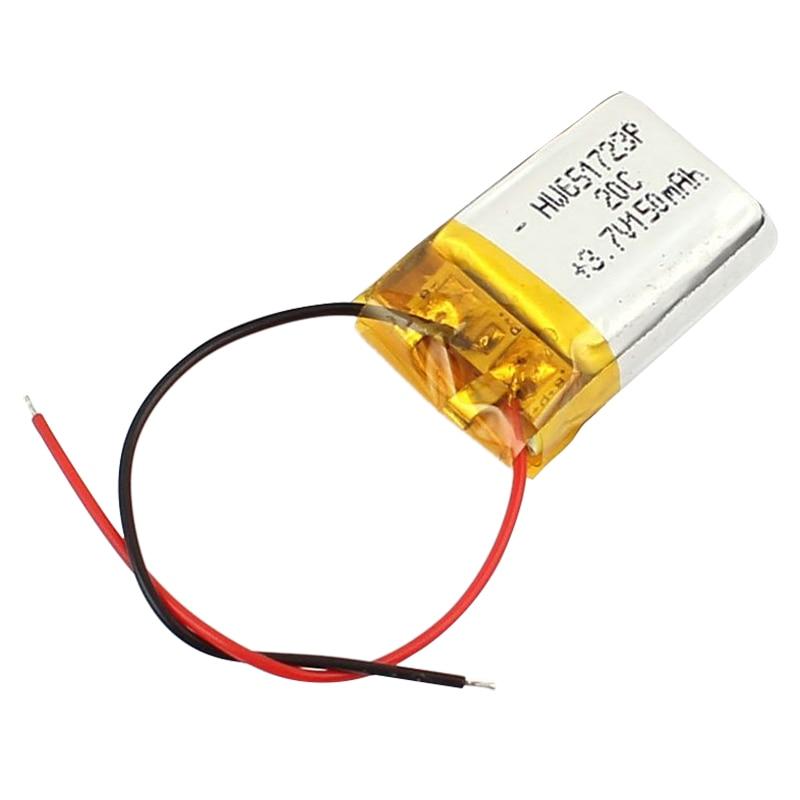 Syma 2 parts 3.7 V <font><b>150</b></font> <font><b>mAh</b></font> lithium polymer <font><b>battery</b></font> RC helicopter white for car boat