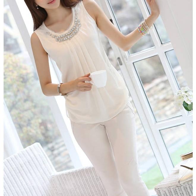 women Tops Blusas Women blouses vetement femme Chiffon Blouse summer top blusa Plus Size White shirt ropa mujer haut femme