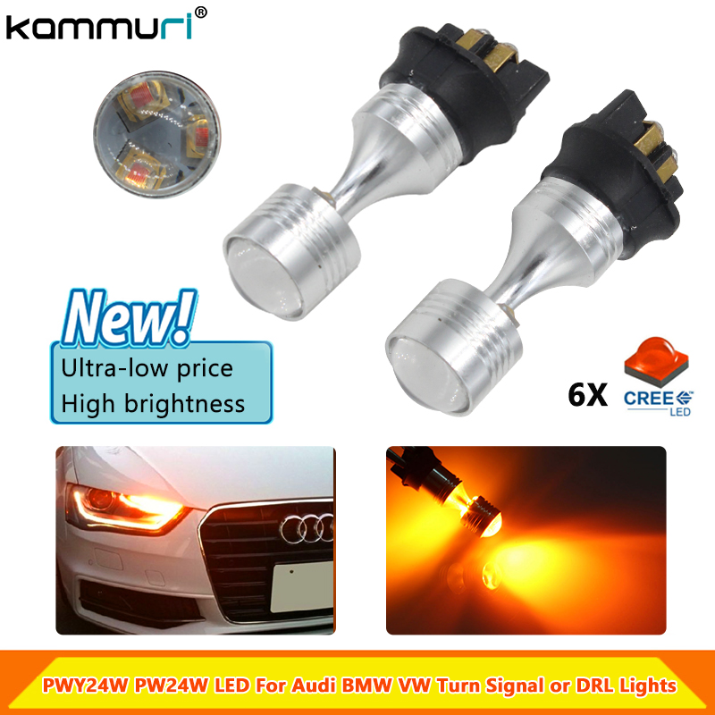 Lampen & LED NEW 30W PWY24W HIGH POWER CREE LED AMBER