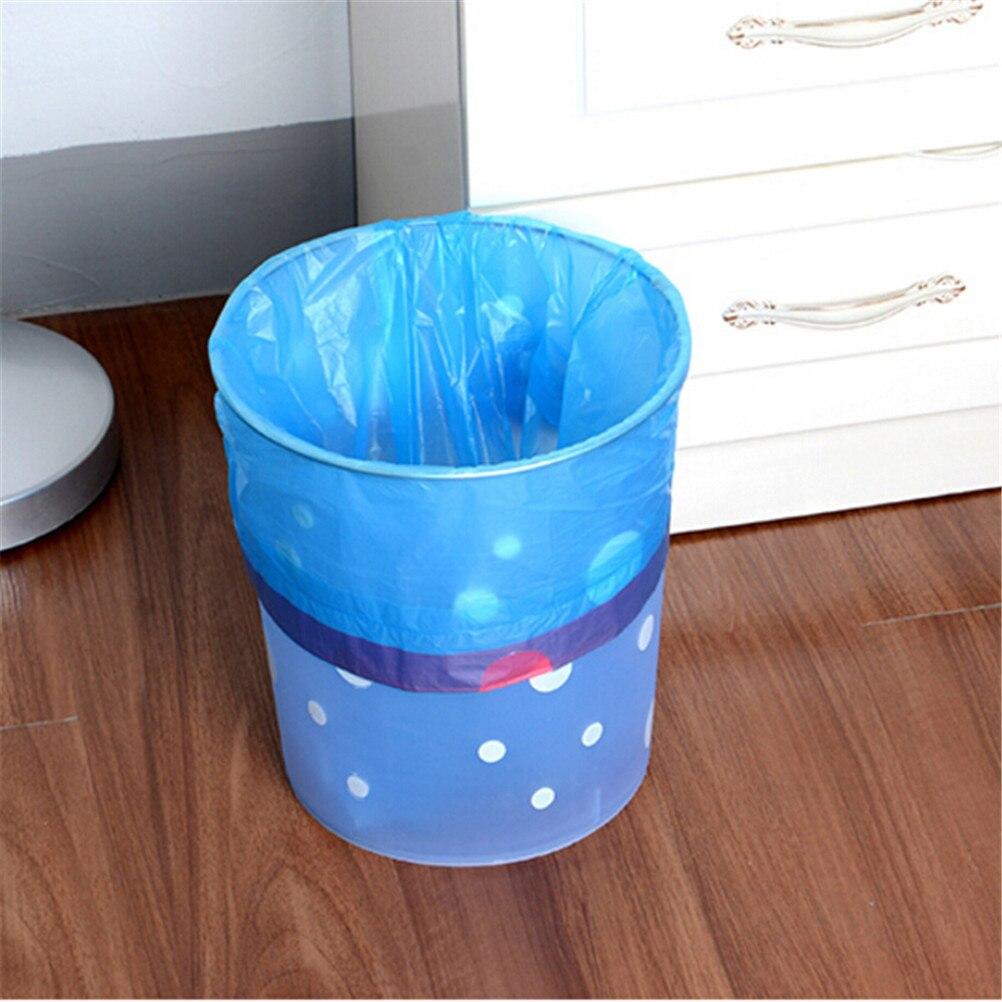 Portable Trash Bag Storage Plastic Waste Basket Bins Trash Holder ...