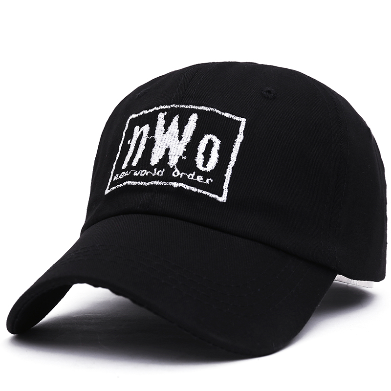 VORON NWO Dad Cap - Black - New World Order WCW Wrestling WWF WWE Raw Smackdown new order new order music complete 2 lp