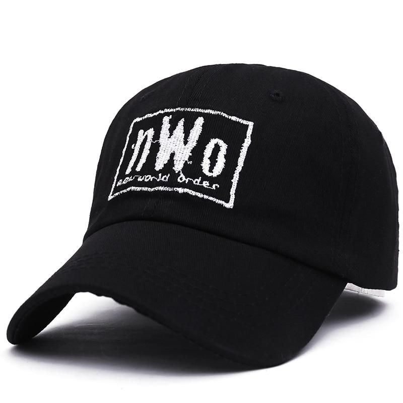 VORON NWO Dad Cap - Black - New World Order WCW Wrestling WWF WWE Raw Smackdown