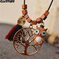 Jewelry Long Necklace Women Cute Owl pendants Women Necklace relogio maxi necklace choker collier kolye pulseira feminina