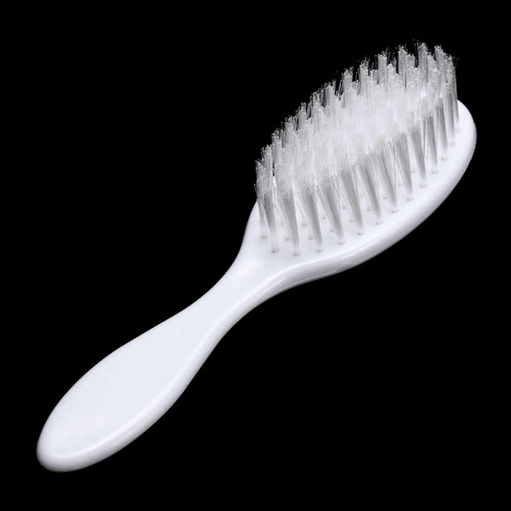 ARLONEET Headwear เด็กทารกสีขาว Hairbrush เด็กแรกเกิดผมแปรงทารกพลาสติกหวีหัวนวด