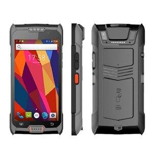 Image 5 - Android 6.0 robuste PDA 4G Terminal de poche 1D 2D NFC RFID lecteur sans fil lecteur de codes à barres Wifi Bluetooth GPS collecteur de données