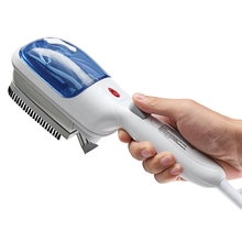 HOT!Portable Household Appliances 220V 800W Travel Handheld Iron Steamer Garment Steam Brush Hand Held For Ironing Clothes(Us new style garment steamer household small hand held steam iron mini portable steam brush ironing machine