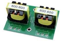 600:600 Permalloy ses izolasyon trafosu dengeli ve dengesiz dönüşüm ses yalıtımı