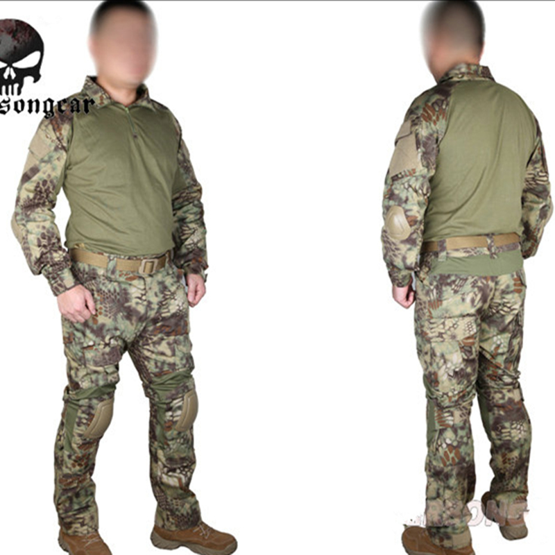 Kryptek Mandrake Emerson Gen2 Combat uniform Tactical gear shirt and pants Army BDU Suits 6925MR combat army uniform emerson bdu tactical shirt