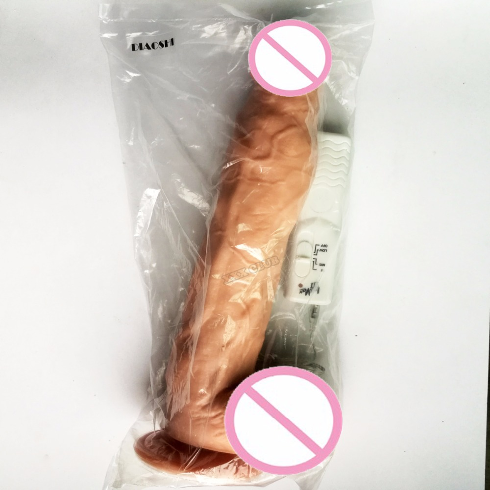 Theirry 12.09x2.36 inch Huge Dildo With Suction Cup for female masturbation Big Size Dong monster Penis vibrating Cock Sex Toys 10
