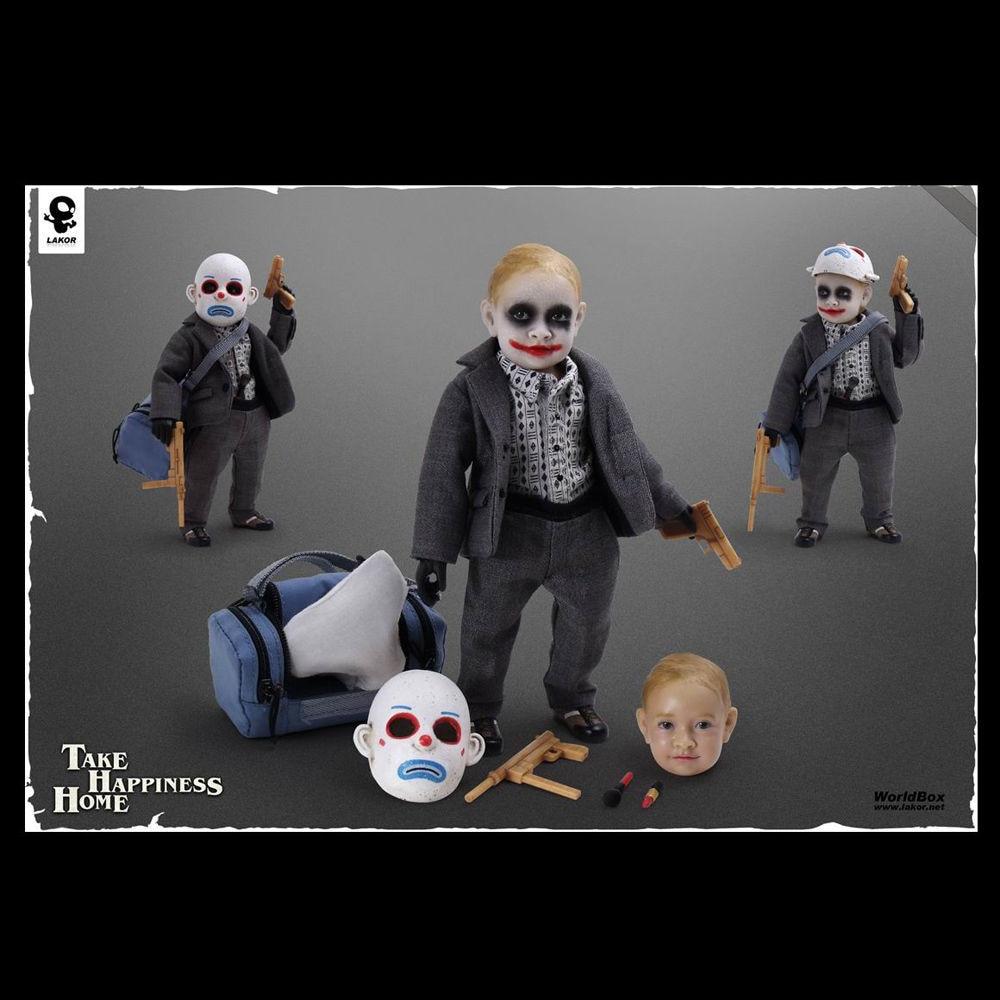 Free Shipping World Box Lakor Baby 1//6 Scale Boy Joker Take Happiness Home
