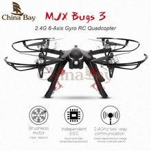 Profesional drone quadcopter mjx bugs 3 b3 sin escobillas rc helicóptero con 4 k/1080 p wifi cámara hd se llevar gopro/xiaomi/eken h9