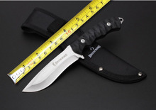 New Browning Small Hunting Knife Utility Outdoor Tactical Fixed Blade Knife With 5Cr13Mov Blade G10 Handle Survival Tools