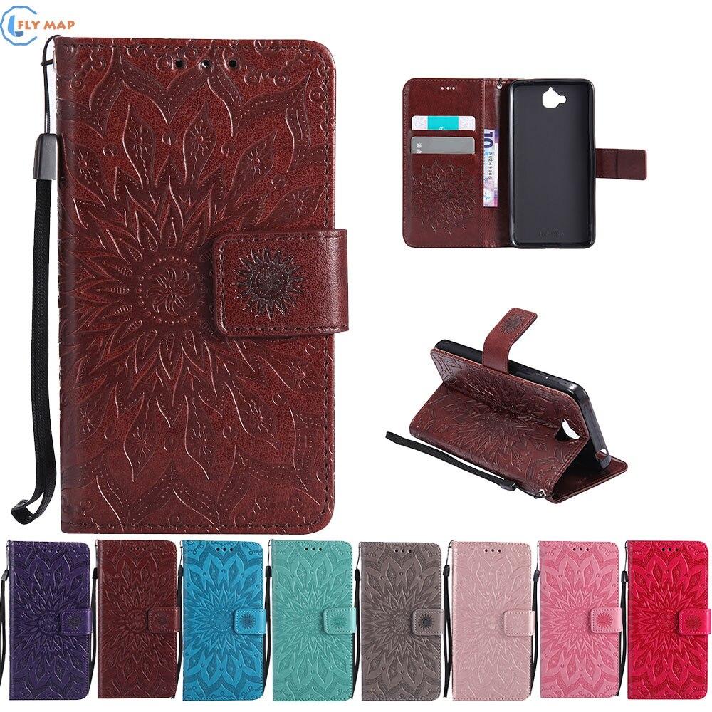 Case Cover For Huawei Y6 Y 6 Pro TIT L01 U02 Wallet Flip Phone Leather Coque For Huawei Y6Pro TIT-L01 TIT-U02 TIT-UL00 Capa Box
