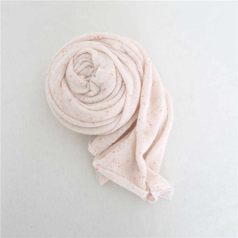 Pastel Rosa Newborn Menina Camisola de Malha Envoltório Newborn Tecido Backdrop Envoltório Vintage Set Posando Beanbag Tampa Swaddle Cobertor De Malha