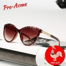 48b77705e8 Pro Acme diseño de la marca de ojo de gato gafas de sol de las mujeres  polarizado de 2019 Retro elegante de ojo de gato gafas de.