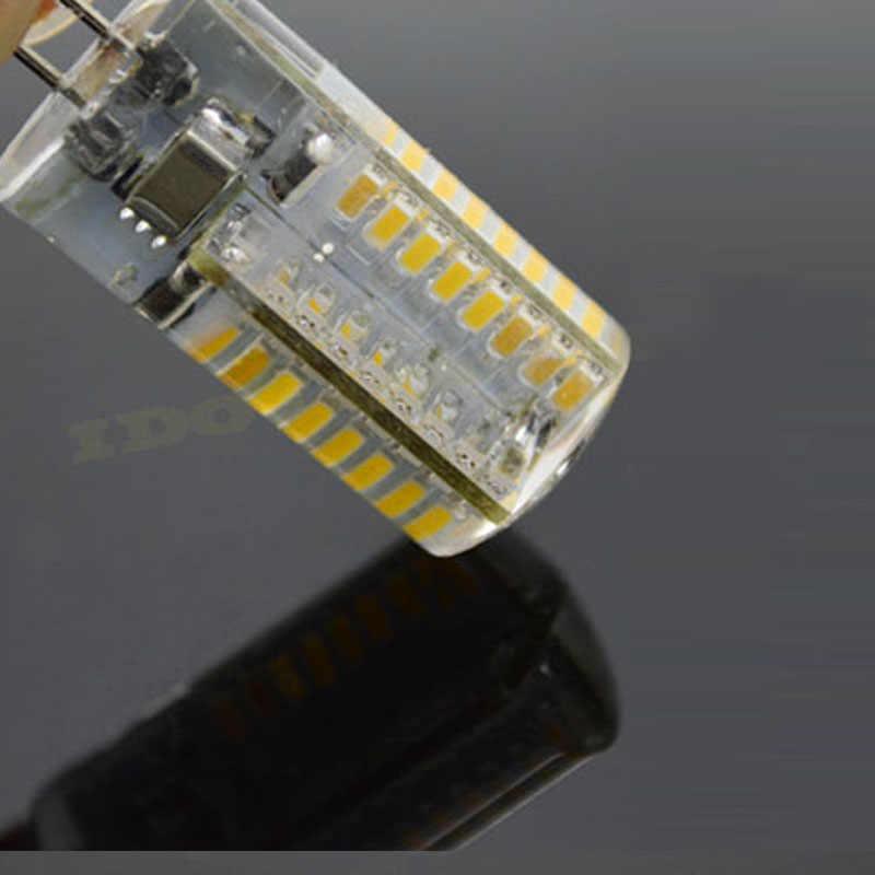 Горячая G4 Светодиодный светильник DC12V AC 220V 24-120 вместо 20 W-60 w галогенная лампа 360 градусов энергосберегающая лампа кристалл лампа бесплатная доставка
