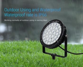 Miboxer FUTC05 25W RGB+CCT Smart LED Garden Lamp Outdoor Landscape Light IP66 AC 220V wifi/phone APP/remote/Alexa Voice control
