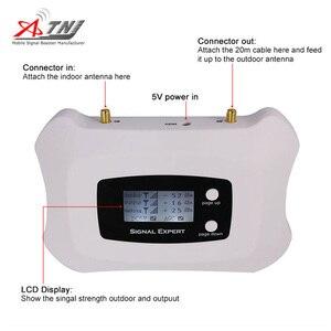 Image 3 - ¡Inteligente! Amplificador de señal móvil LTE 4G, 800mhz, repetidor, pantalla LCD, Sistema de velocidad más inteligente, Yagi, antena de bolígrafo