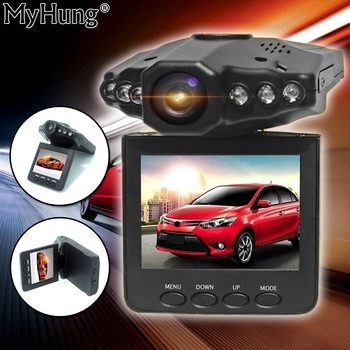 2.4 Inch TFT Car DVR With 6 LED Light Auto Car Camera Video Recorder Dash Cam Motion Detection Night Vision G-Sensor image