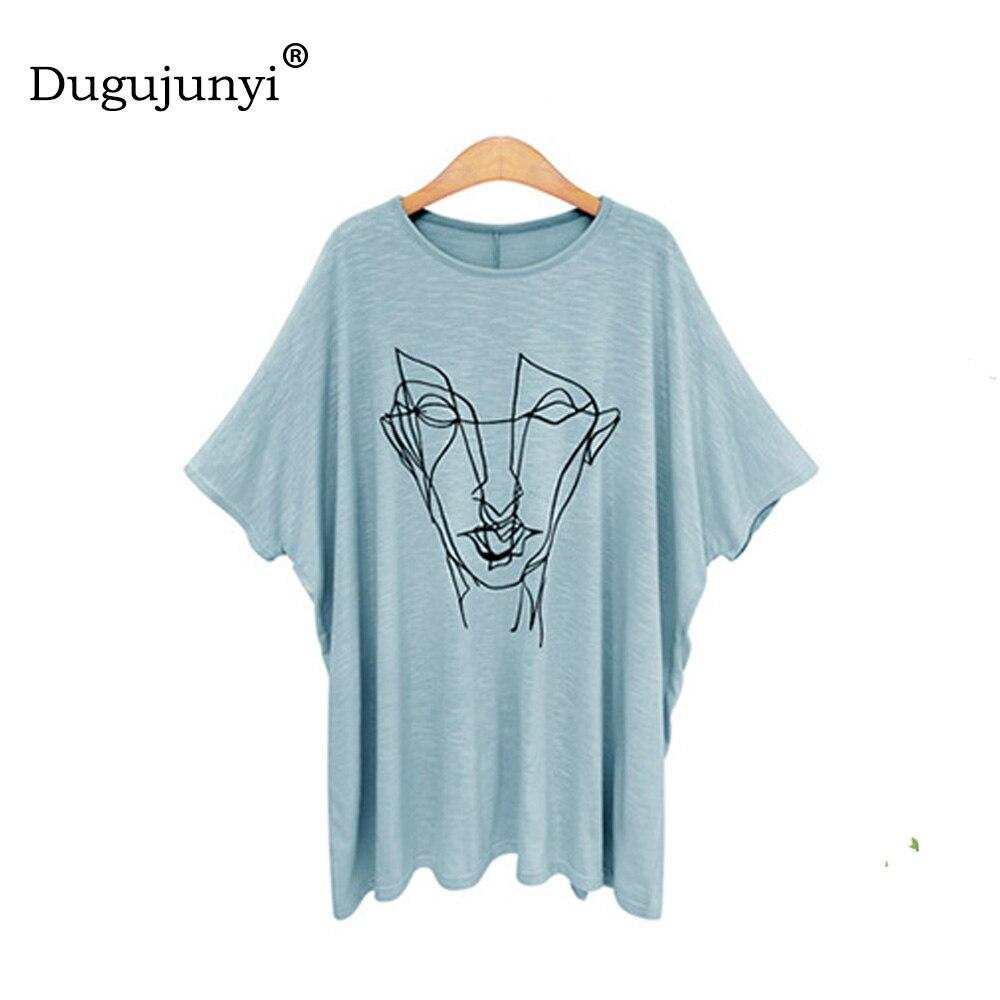 Fat mm new summer t shirt women loose big size women t shirt plus size 5xl 6xl Printed short sleeve women tops modal t-shirts