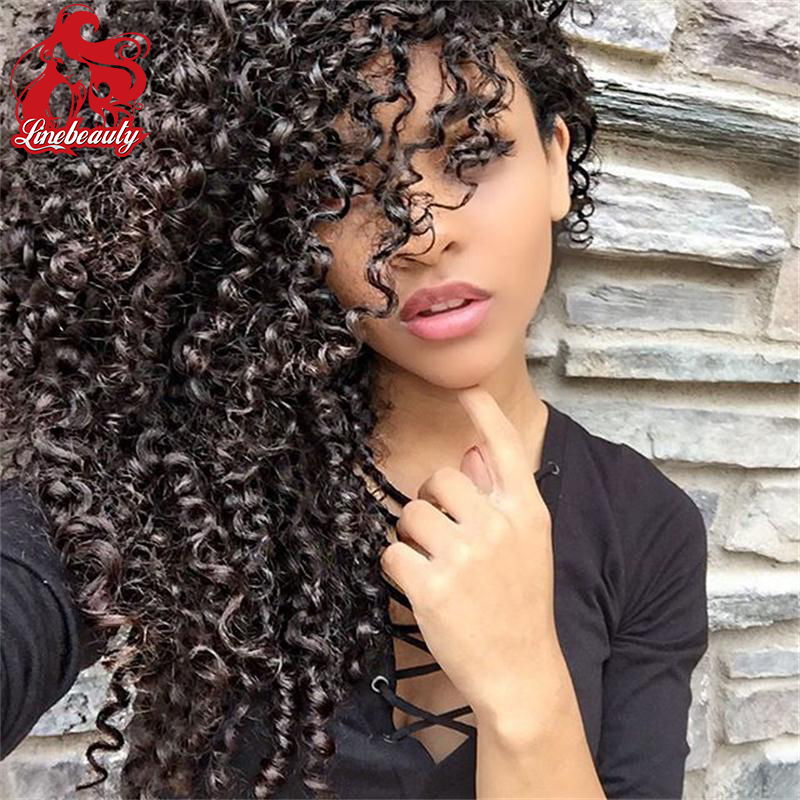 #1b color afro kinky curly synthetic lace front wig natural color black afro curl lace front wig